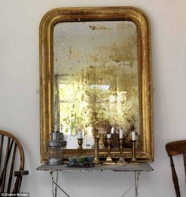 Colour Inspiration Gold Vintage Mirrors Mirror Antique Mirror