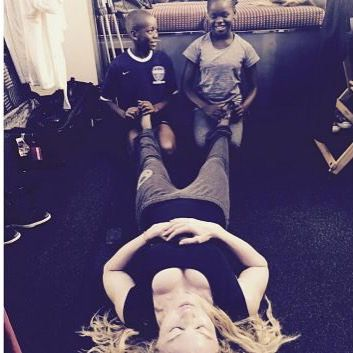 Madonnas Pic of adopted black children massaging her feet. Didn't go well http://ift.tt/1CeNjph #PvtNews