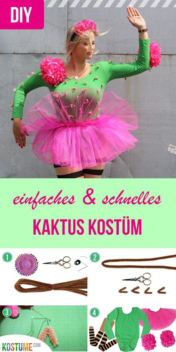 Achtung, jetzt wird's stachelig: Kaktus-Kostüm selber machen! - Kostüme.com Blog