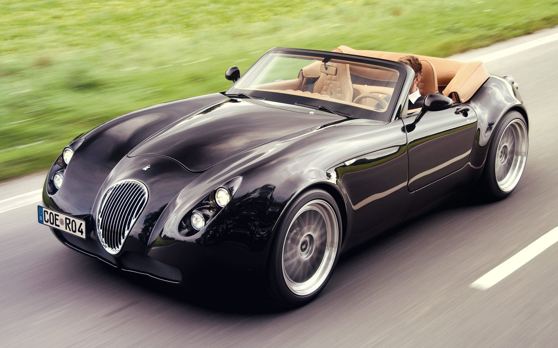combines the best of vintage British sports car and German ...  combines the be...
