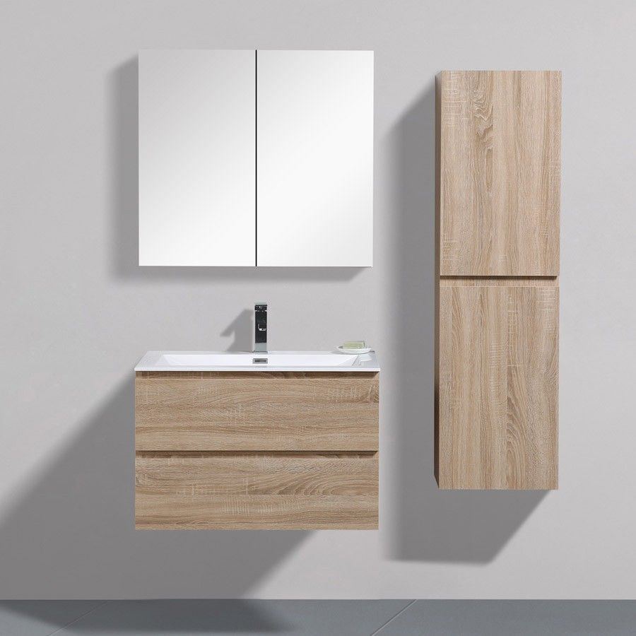 Angela 90 Cm Wall hung Vanity - Thin Basin 10mm | Bathroom ...