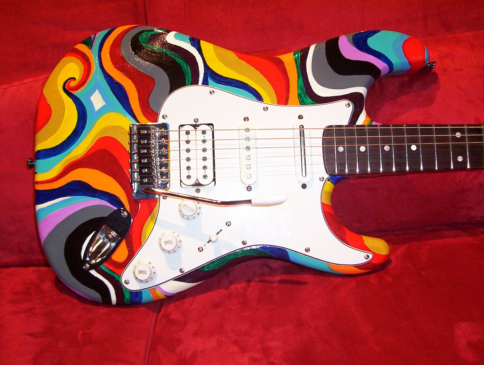 Cool paint job | Guitar | Pinterest | Guitars and Guitar ...