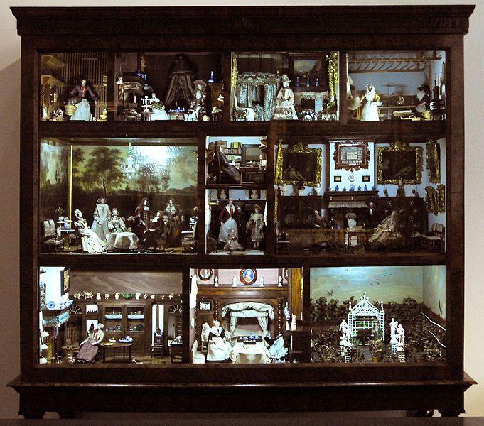 Dollhouse Miniatures Amsterdam: Doll's House From Petronella De La Court (Amsterdam 1670
