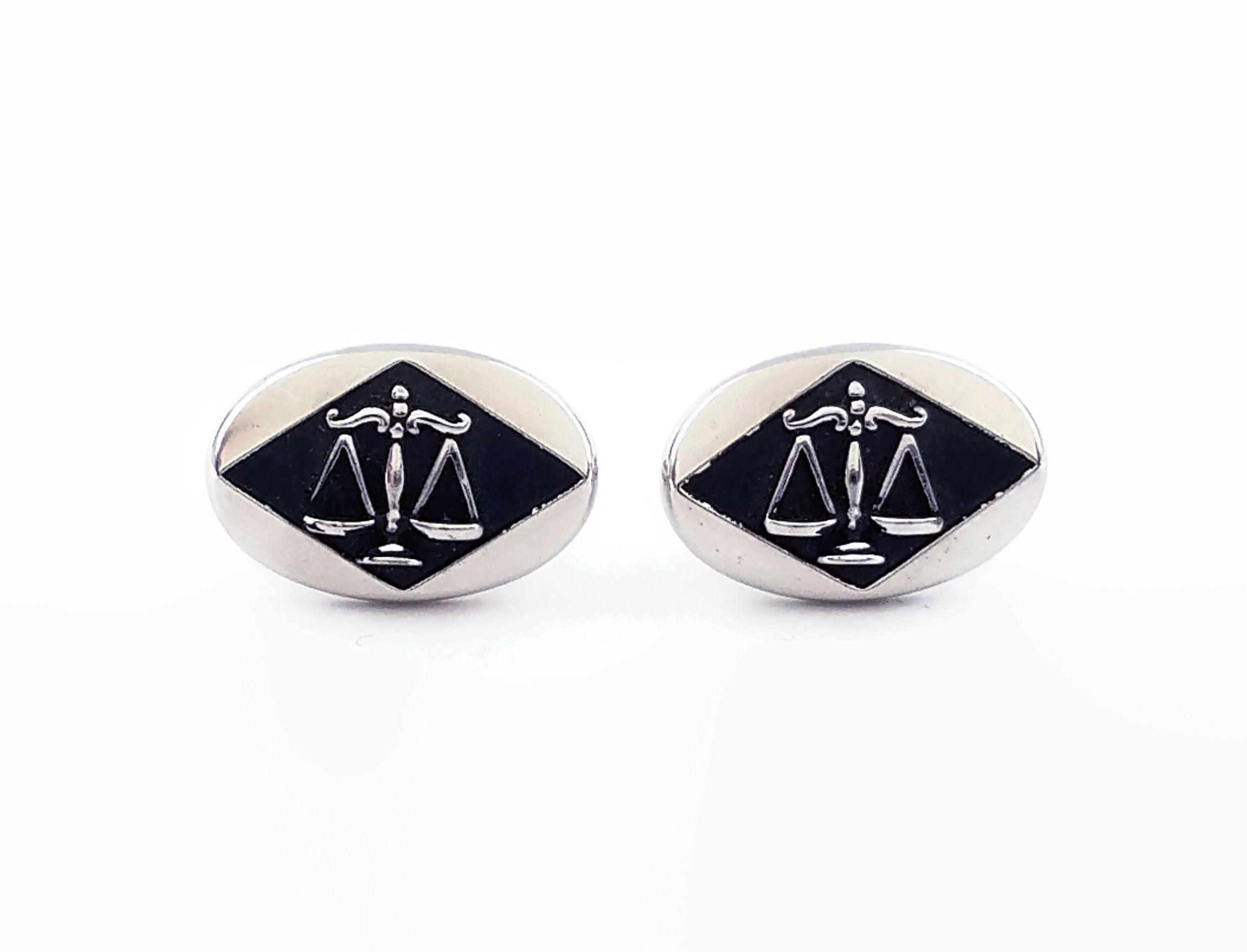 law enforcement cufflinks
