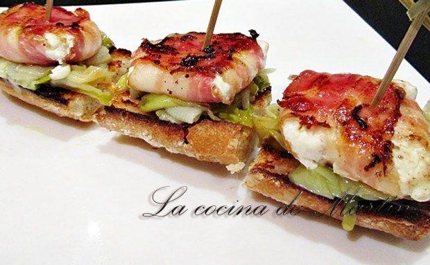 Los mejores montaditos caseros tostas tapas aperitivos montaditos pates pinterest - Los mejores aperitivos ...
