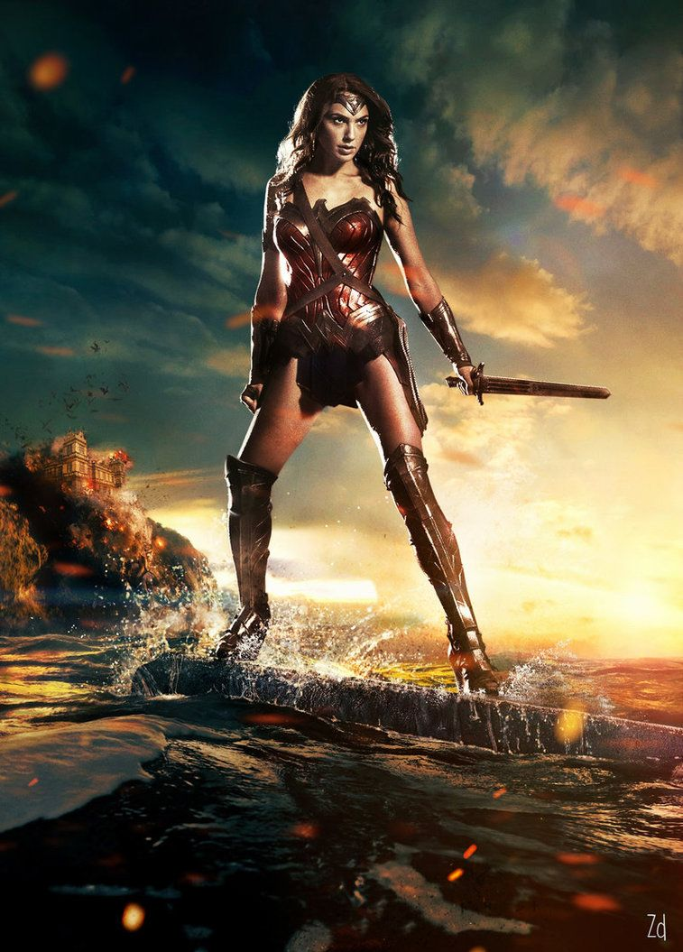 Batman V Superman Dawn Of Justice Wonder Woman By Zombie Design On DeviantArt
