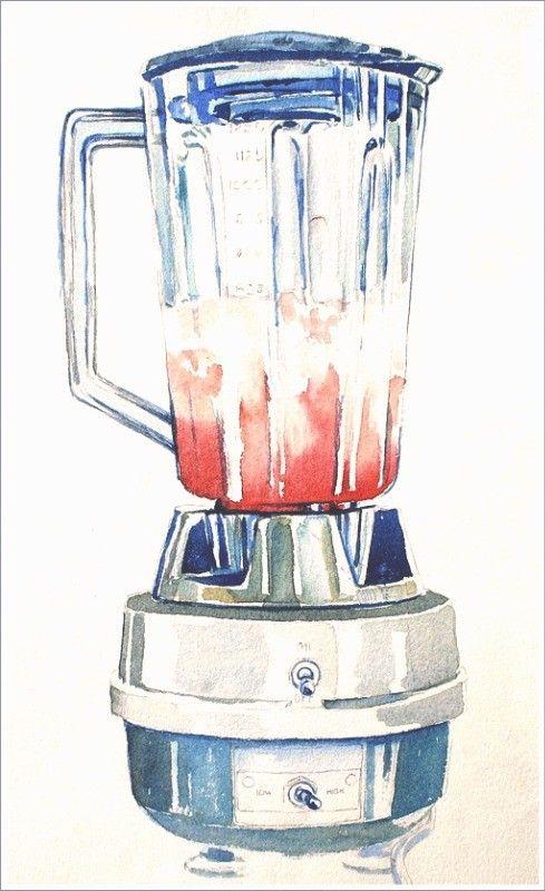 Wir sehen diesen Mixer und denken an Margaritas :) Hmmm...da gibt's doch eine tolle Duftkerze von Yankee Candle: Margarita Time!