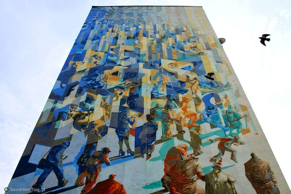 Łódzkie Murale. Ulica Morcinka | Łódź-Ziemia Obiecana | Pinterest