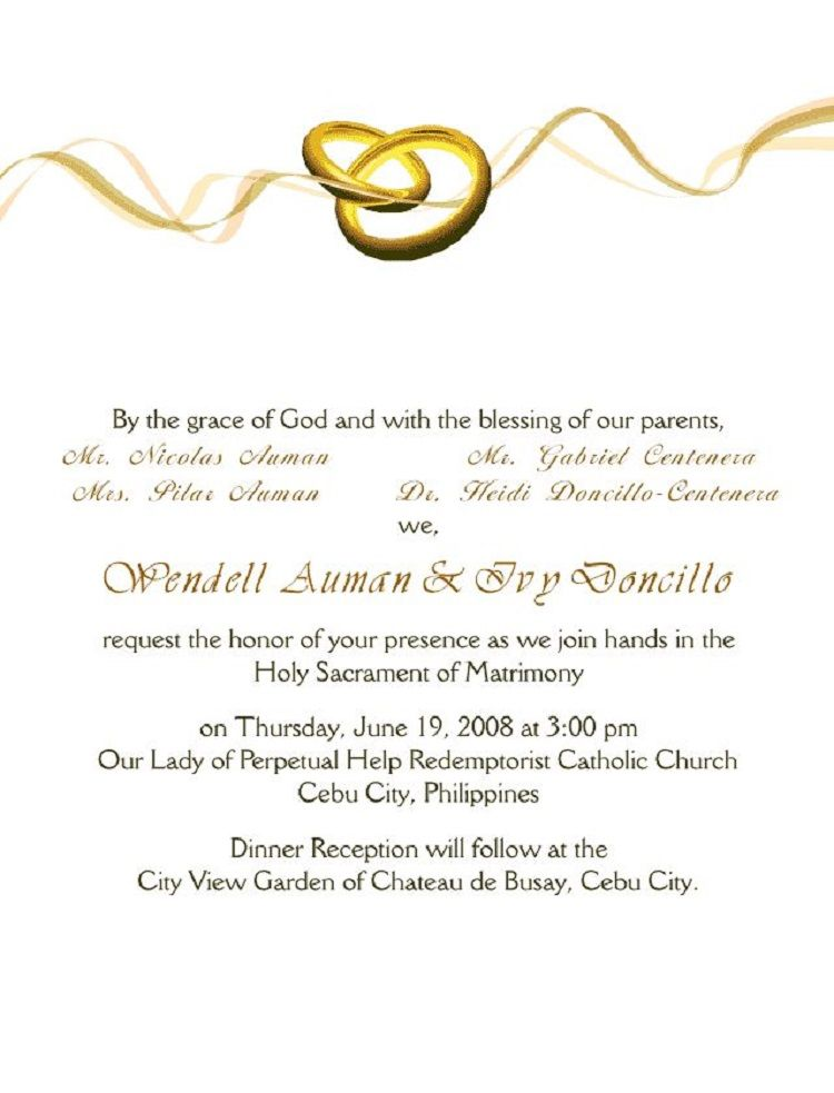 Wedding Invitation Cover Letter Email Wedding Invitations Weddin Invitations Wedding Invitation Cards