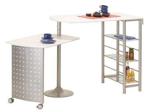 Links 99600220 FILAMENTO Küchenbar weisse Platten 115 176x70x100 cm - küche mit bar
