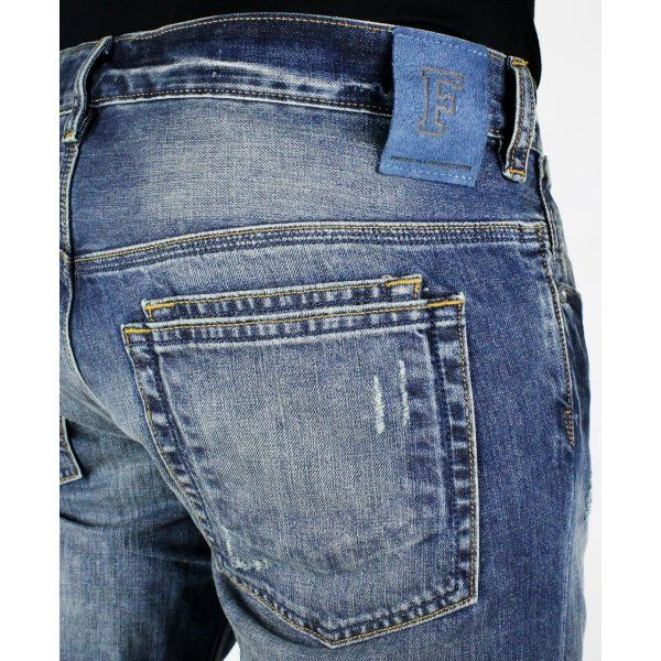 French Connection Destroyer Jeans - French Connection from Yakuza Clothing UK