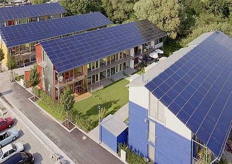Solar Village By Rolf Disch Solar Panels Advantages Of Solar Energy Solar