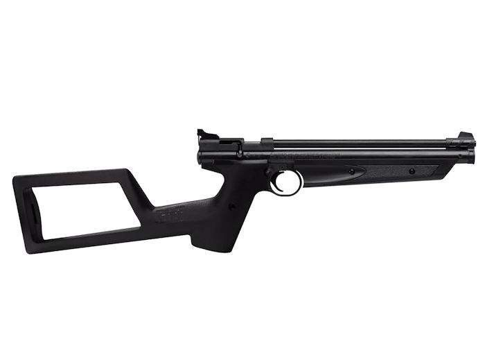 Crosman P1322 With Shoulder Stock, Black  Air guns