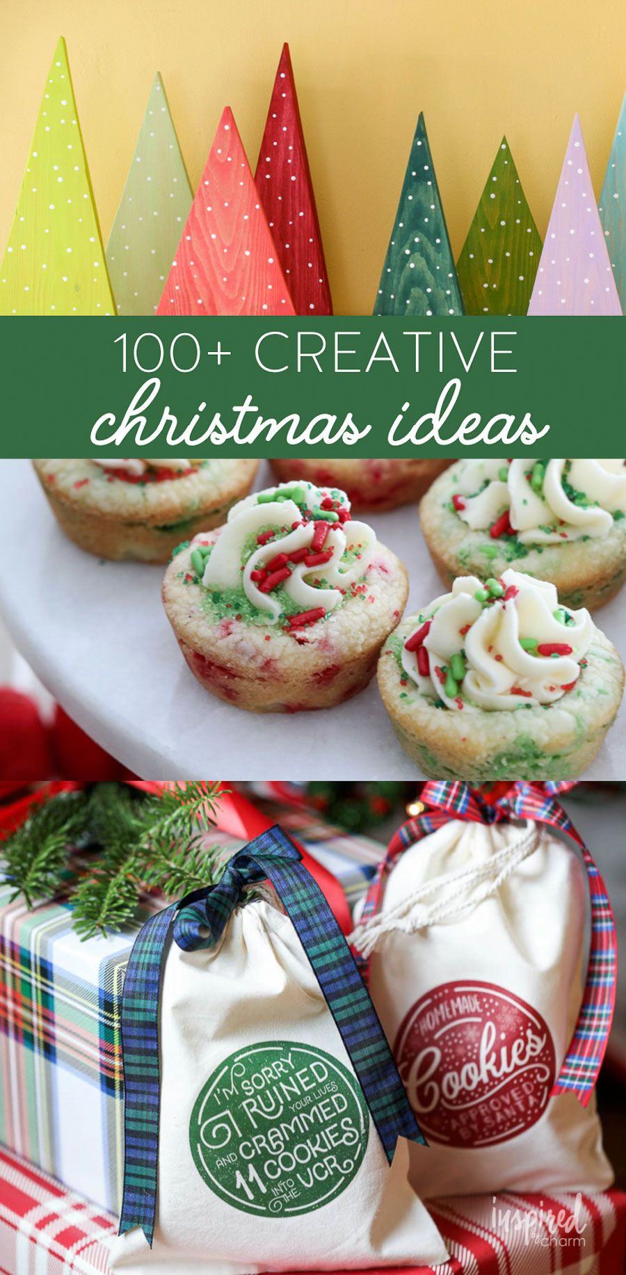 100 Creative Christmas Ideas To Celebrate The Holiday Season Christmas Decor Recipes Craft Creative Christmas Homemade Christmas Homemade Christmas Gifts