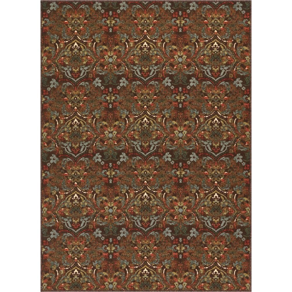 Well Woven Kings Court Florence Brown 8 Ft X 10 Ft Traditional