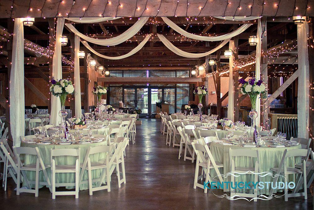 Winery Wedding Purple Green Talon Winery Lexington Barn