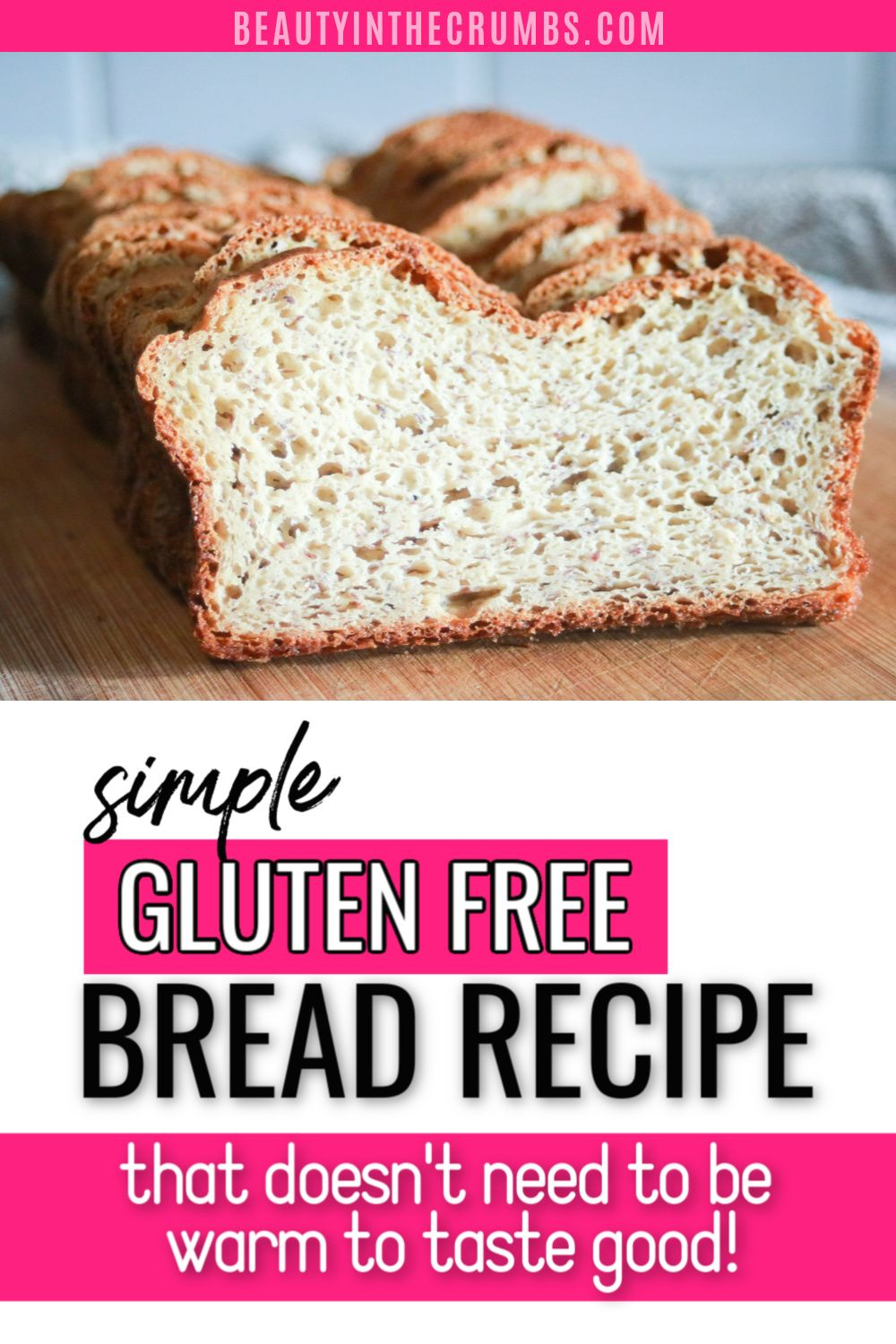 Easy Gluten Free Bread Recipe That Anyone Can Make Dairy Free Recipe Gluten Free Bread Gluten Free Recipes Bread Gluten Free Bread Recipe Easy