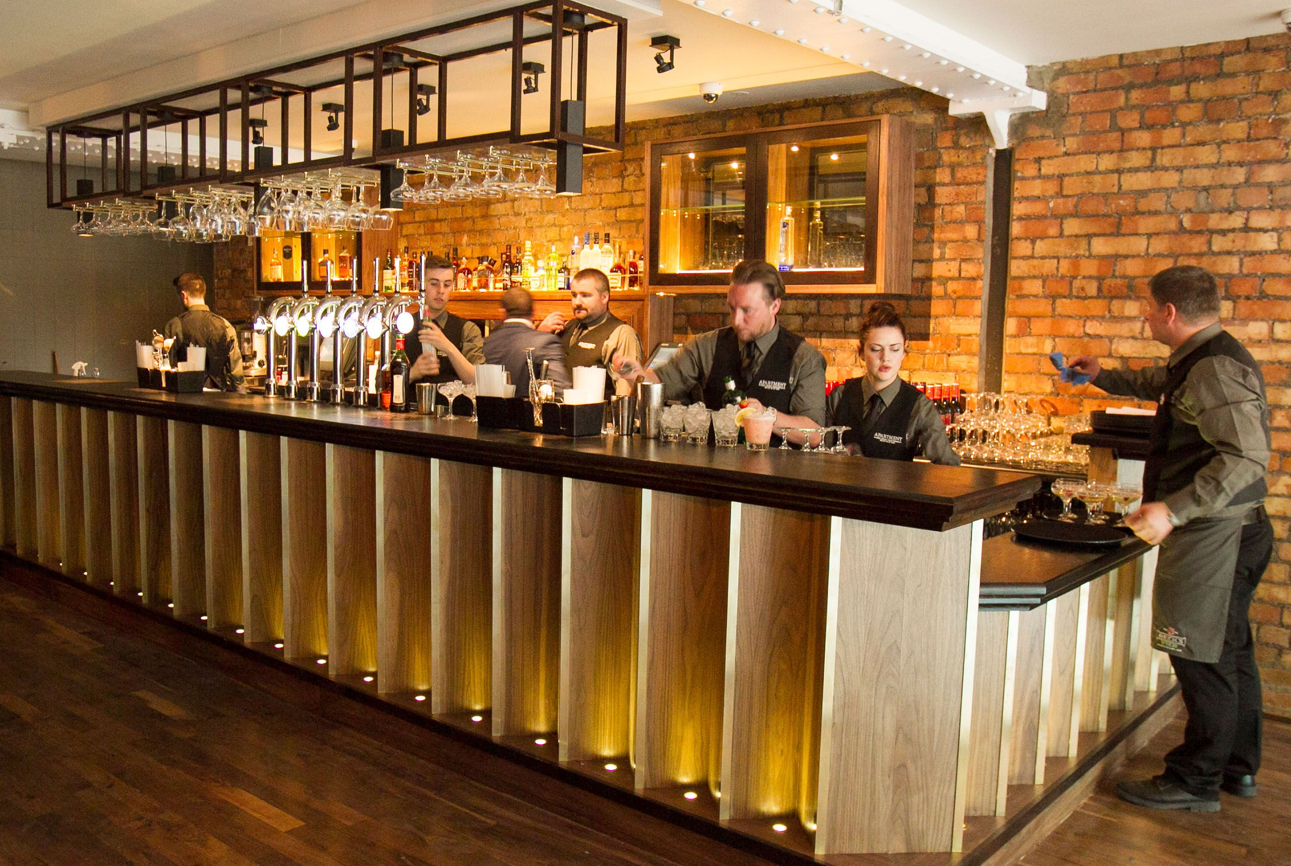The Apartment Bar Belfast.