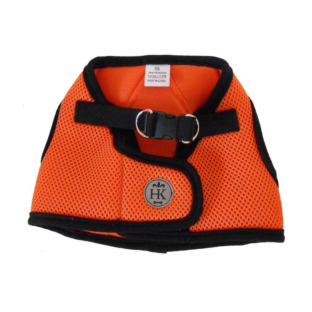 Huxley And Kent Hudson Harness In Orange Hudson Designer Dog