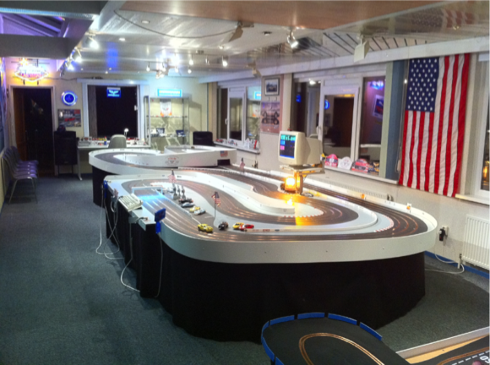This Dutchman Has An Awesome Man Cave With Race Tracks Arcade Games And More Game Room