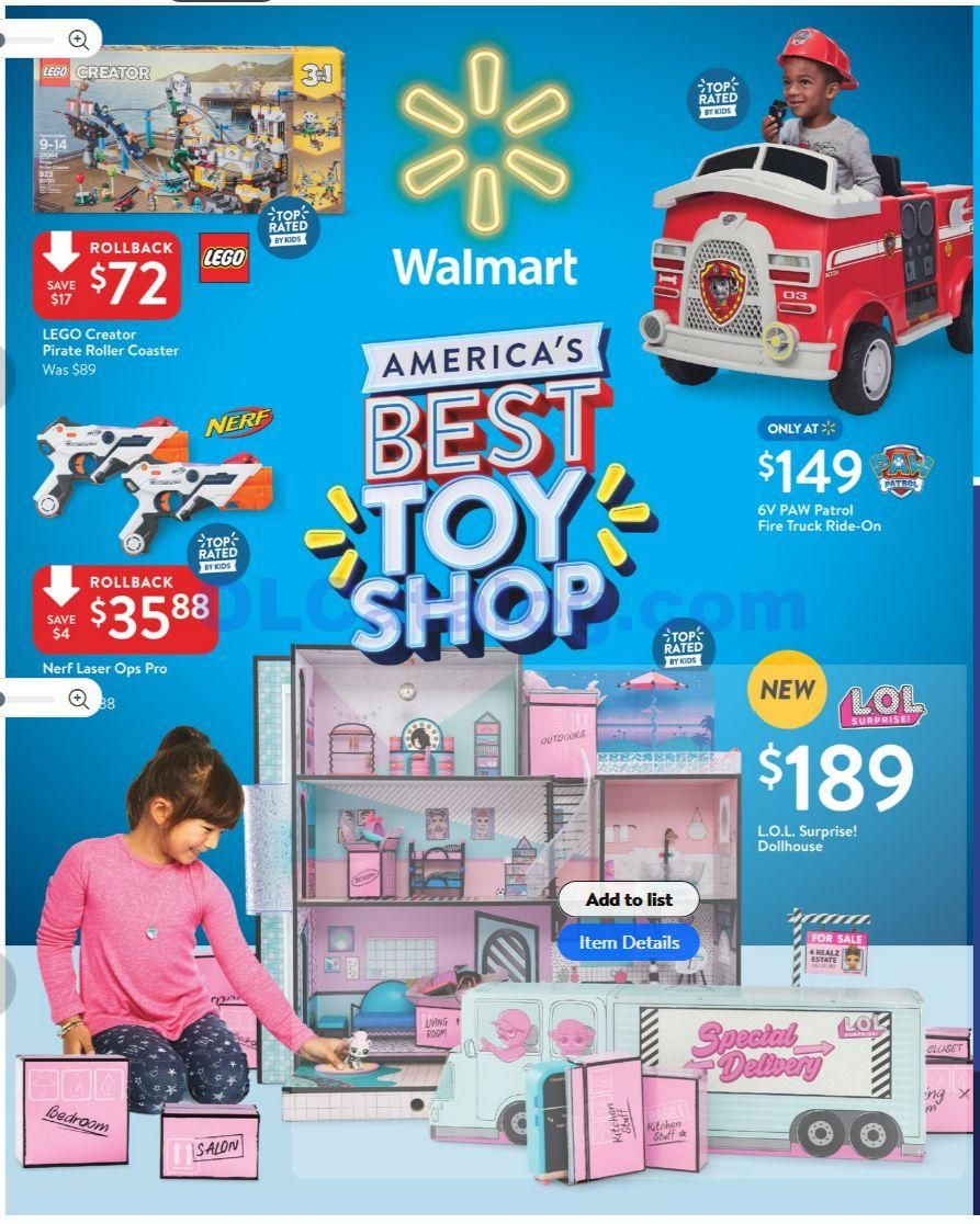 Walmart Best Toy Shop Catalog November 2 December 24 2018 Do You Know What S In And What S Hot In The Walmart For This Ho Walmart Toys Toy Catalogs Walmart
