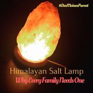 Health Benefits Of Salt Lamps Himalayan Salt Lamp Why Every Family Needs One  Himalayan Salt