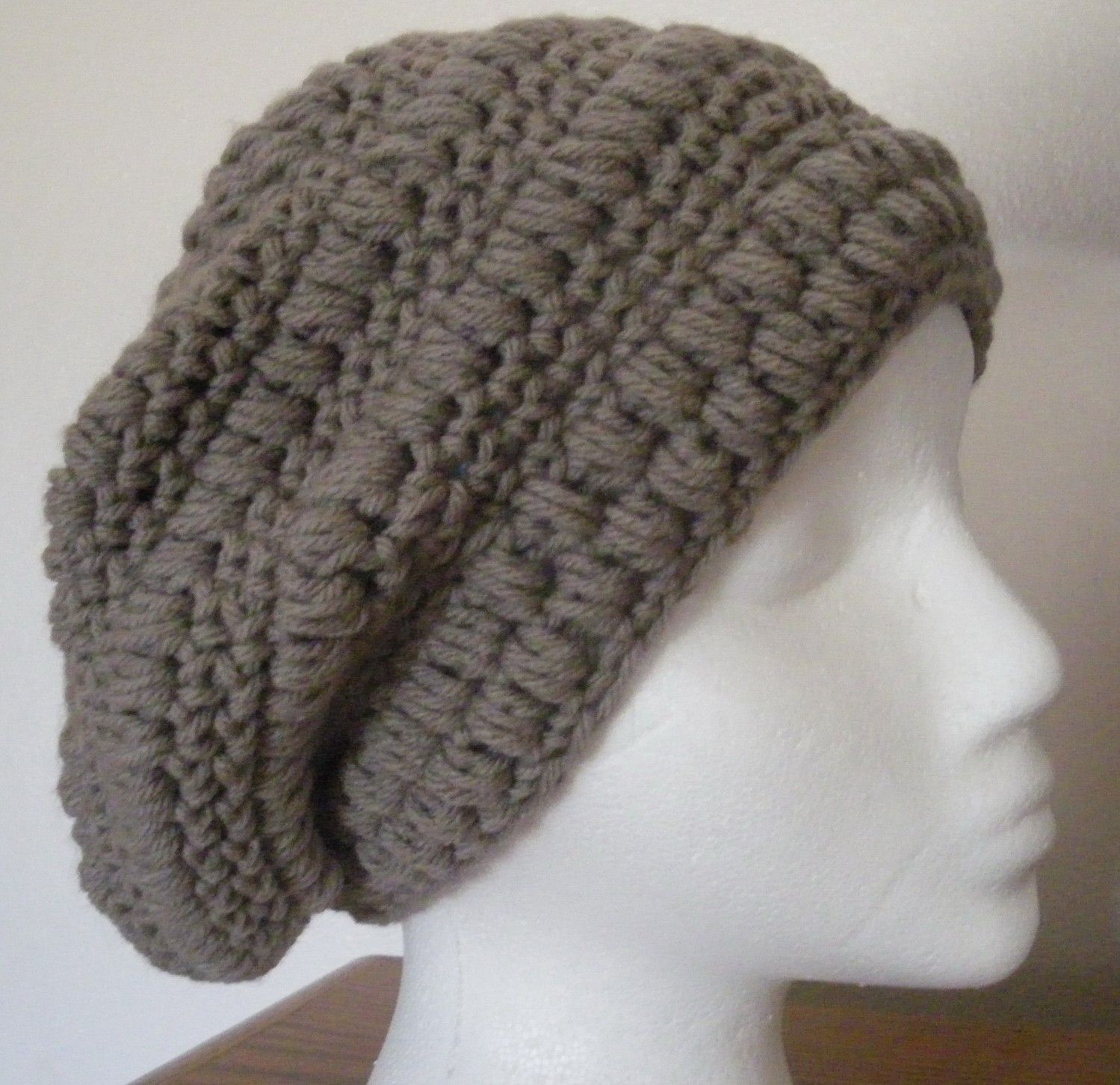 Mens crochet fedora pattern free items similar to crochet mens crochet fedora pattern free items similar to crochet slouchy hat beanie rasta camel gray and off crochet pinterest free items slouchy hat bankloansurffo Image collections