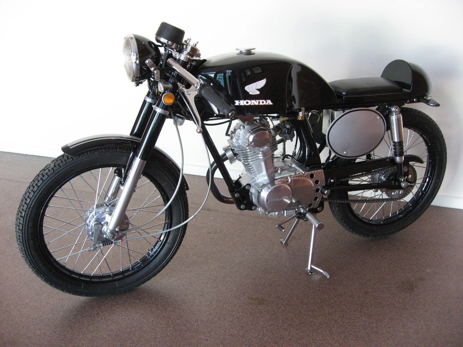 Honda Gl 100 Cafe Racer Newmotorwall Org