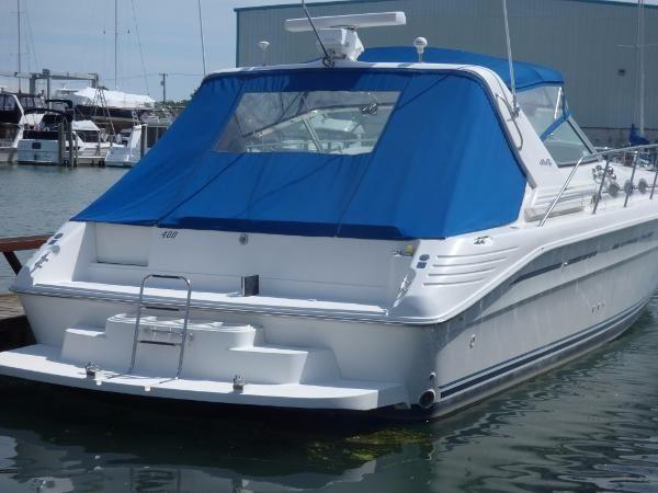 Used 1996 Sea Ray 400 Express Cruiser Harrison Township Mi 48045 Boattrader Com Used Boats Boat Harrison Township