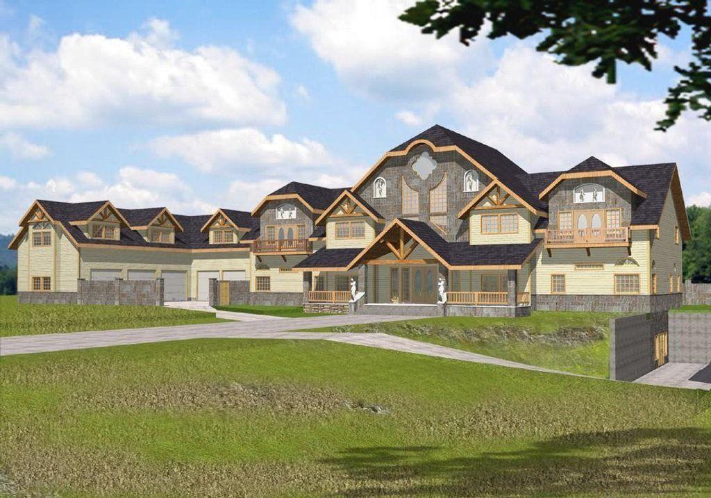 European Style House Plan 15 Beds 13 Baths 26337 Sq Ft Plan 117 168 Luxury House Plans House Plans Modern House Design