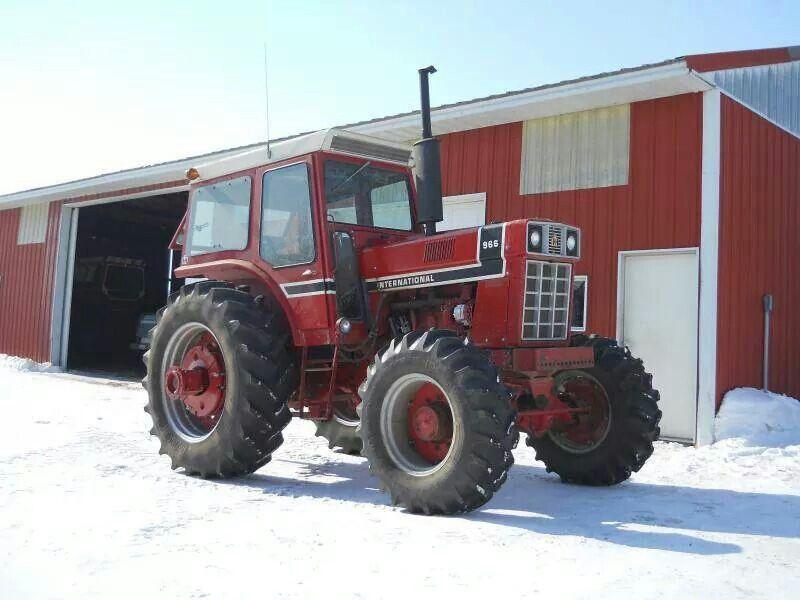 966 International Tractor : Ih black stripe fwd ernational international