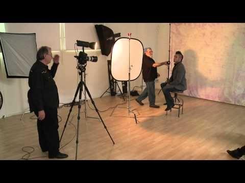 ▶ Backdrop Lighting with Tony Corbell - YouTube
