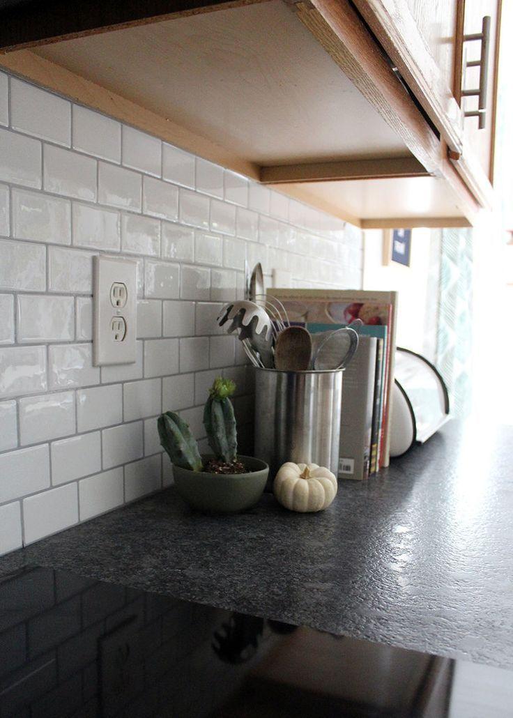 New Peel And Stick Subway Tile Backsplash Backsplash Peel