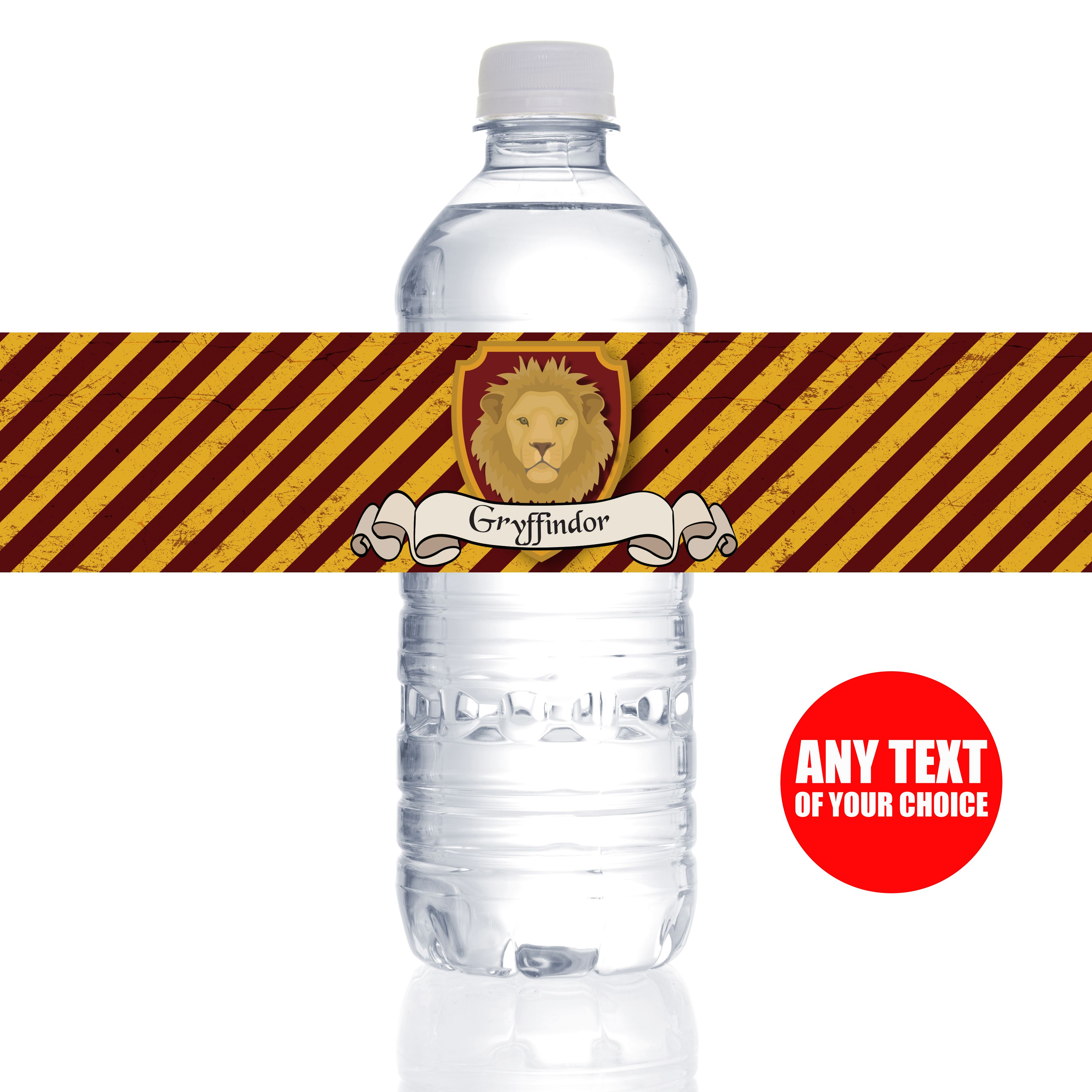 25ff5e2c2b5 Harry Potter Gryffindor Bottle Labels - 10 Pk Party Supplies Canada - Open  A Party