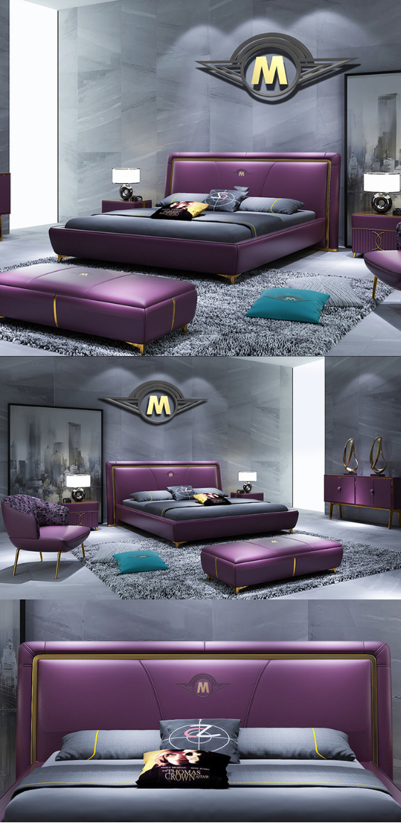 Purple Bedroom Tips And Decorating Ideas Bedroom Bed Design Luxury Bedroom Furniture Luxurious Bedrooms