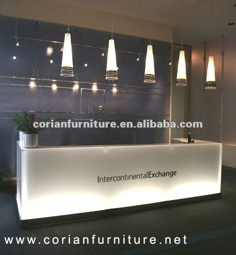 yellow office worktop marble office furniture corian. CT-136 New Design Led Backlit Corian Reception Desk $8000~$10000 Yellow Office Worktop Marble Furniture C