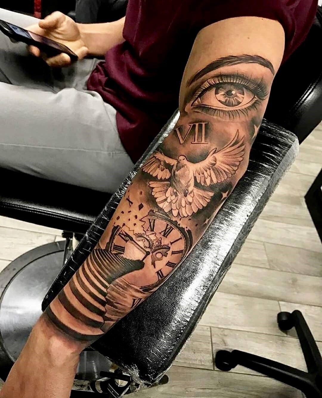 Pin von Fred Kwl auf tattoo | Tattoo ideen männer arm