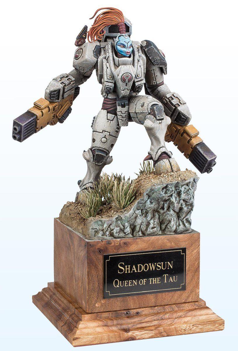 Commander Shadowsun By Adrian Bay Tau Warhammer Warhammer Warhammer 40k Miniatures