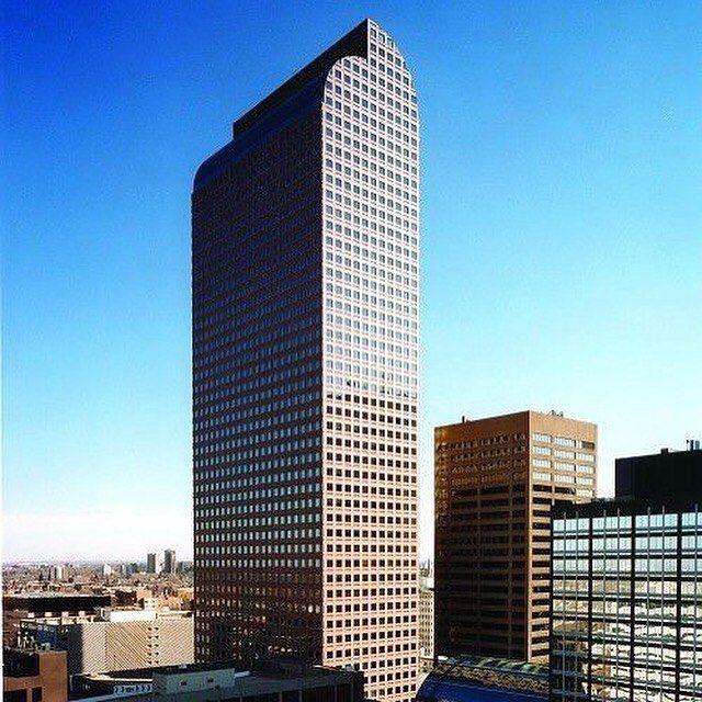 Wells Fargo Center, Denver, Johnson Burgee, 1983 Via