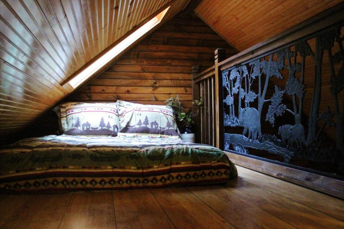 small cabin interior