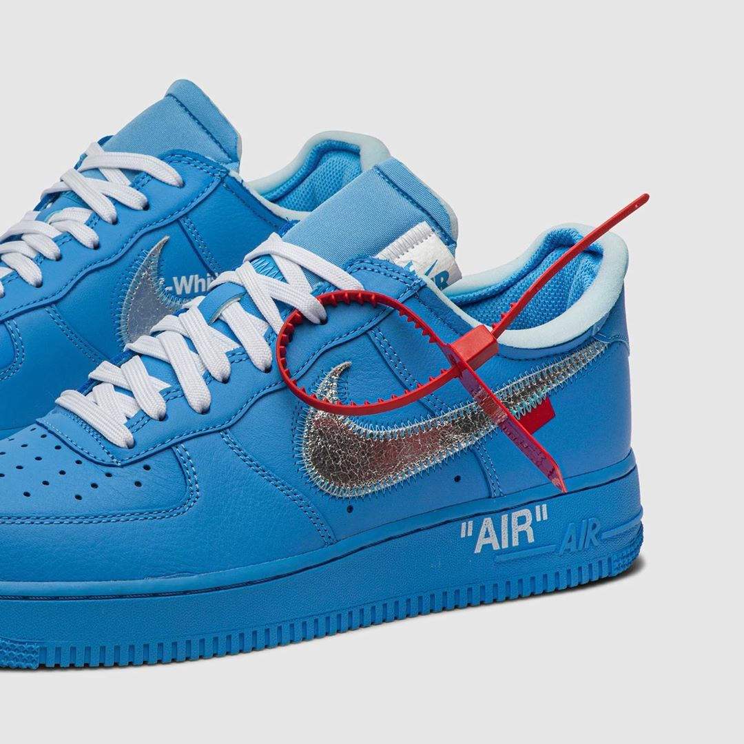 G O A T On Instagram The Latest Off White X Air Force 1 Low