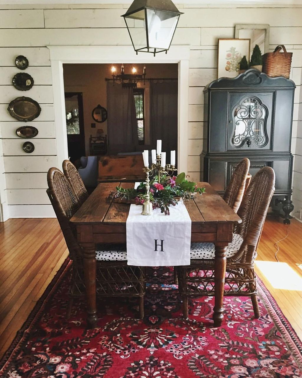 Farmhouse Style Dining Room Table And Decor Ideas 26  Farmhouse Mesmerizing Farm Style Dining Room Table Decorating Design