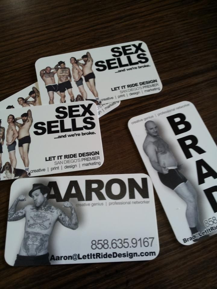 The funniest business cards i have ever seen let it ride design the funniest business cards i have ever seen let it ride design custom printing company in san diegod were broke hahaha reheart Images