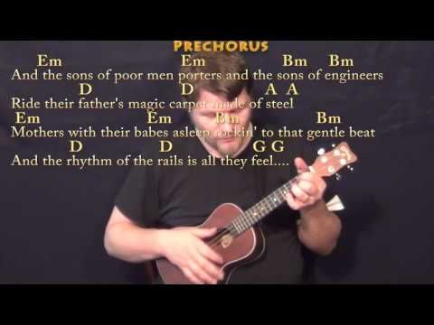 The City of New Orleans (Arlo Guthrie) Ukulele Cover Lesson with ...