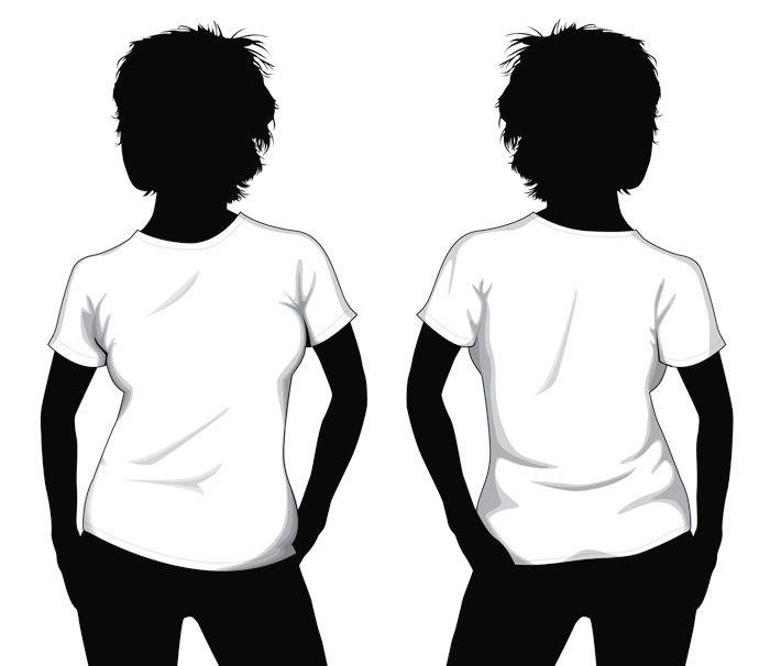 Download Blank T Shirt Template Blank T Shirt Template For Girls T Shirt Design Template Free T Shirt Design Girls Tshirts