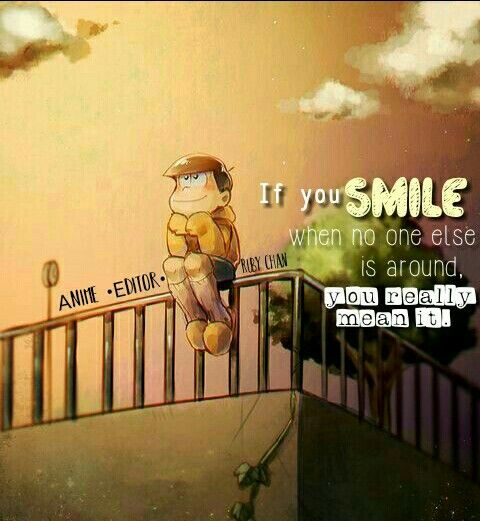 Anime Quotes Smile! | Anime quotes, Special quotes, Fact ...