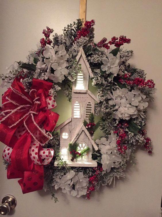 Christmas church wreat #christmas church wreath