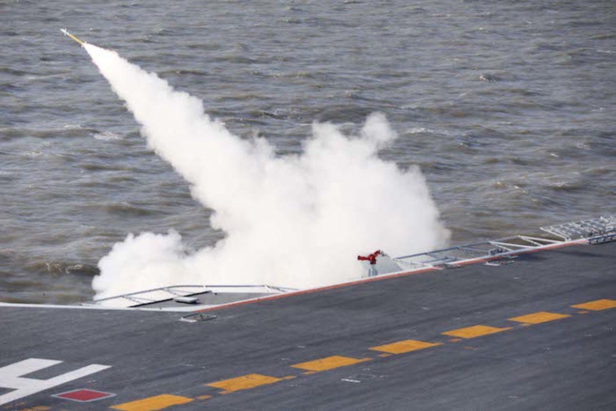 China probó un nuevo misil cerca de costas coreanas