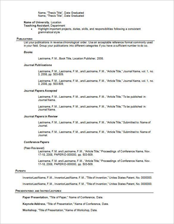 Outline 3-Resume Format Sample resume templates, Resume outline
