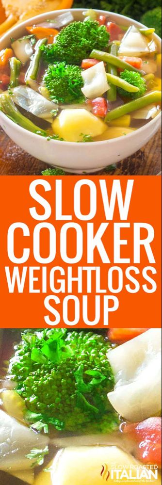 Slow Cooker Weight Loss Soup (With Video) -   18 healthy recipes For Weight Loss slow cooker ideas